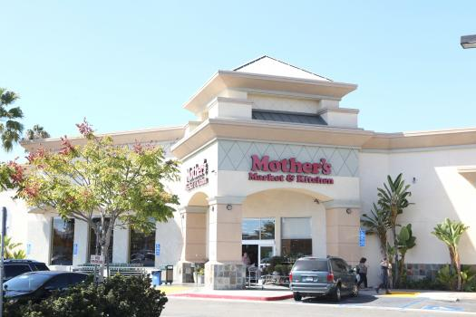 Photograph of the outside of the Costa Mesa store
