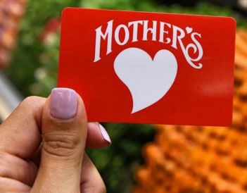 Mother's gift card